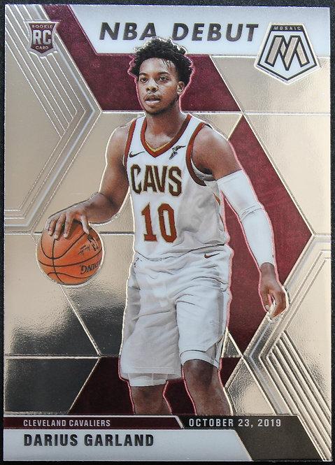 Darius Garland 2019-20 Mosaics NBA Debut Rookie