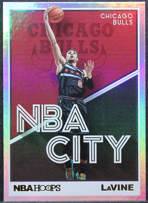 Zach LaVine 2019-20 Hoops NBA City Silver