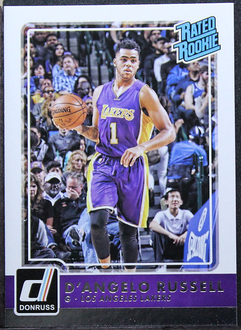 D'Angelo Russell 2015-16 Donruss Rated Rookie
