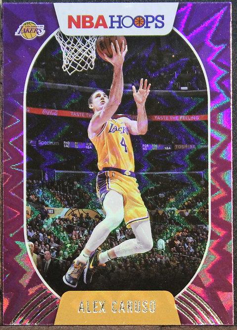 Alex Caruso 2020-21 Hoops Purple Explosion