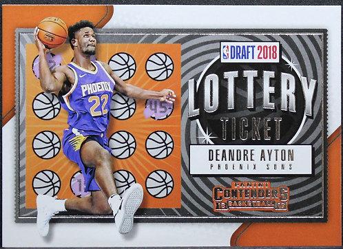 Deandre Ayton 2018-19 Contenders Lottery Ticket