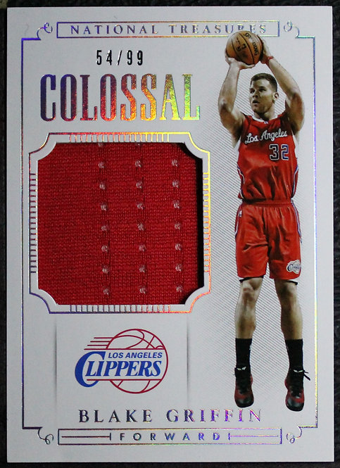 Blake Griffin 2014-15 National Treasures Colossal Jerseys 54/99