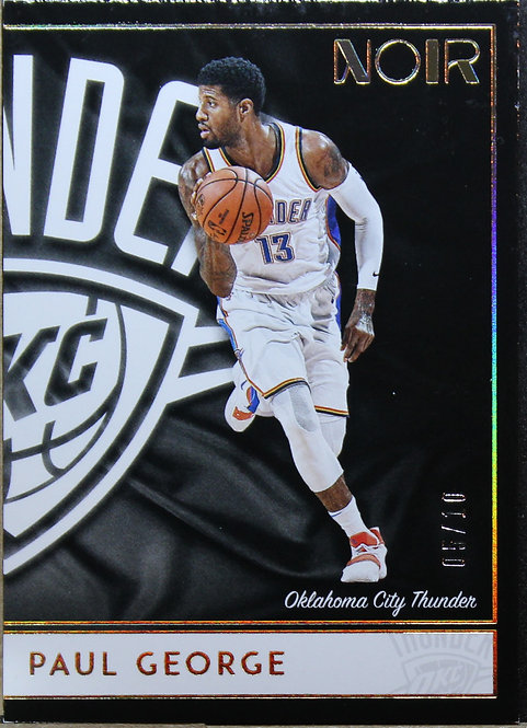 Paul George 2018-19 Noir Association Edition 05/10