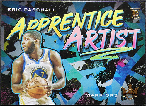 Eric Paschall 2019-20 Court Kings Apprentice Artists RC