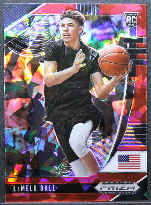 Lamelo Ball 2020 Prizm Red Cracked Ice