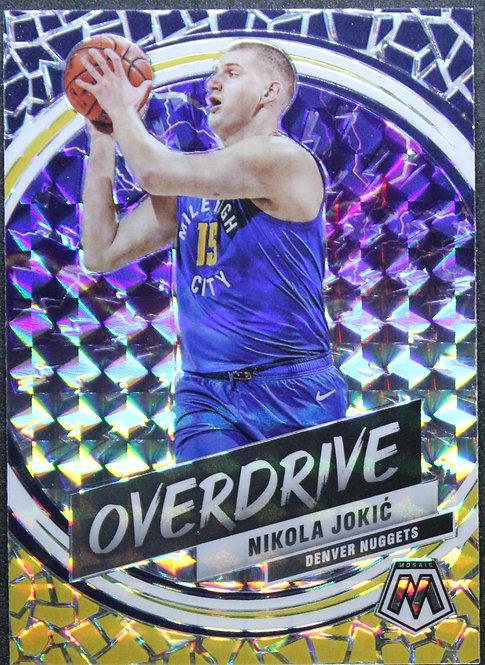 Nikola Jokic 2019-20 Mosaic Overdrive