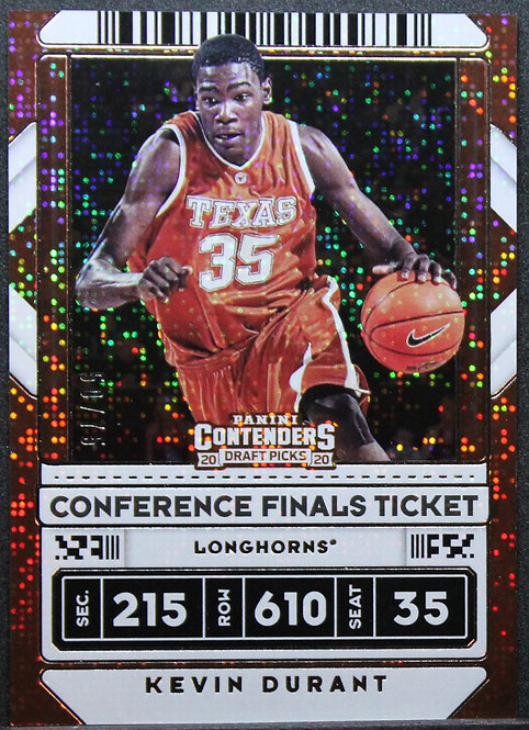 Kevin Durant 2020-21 Contenders Draft Picks Conference Finals Ticket 50/75