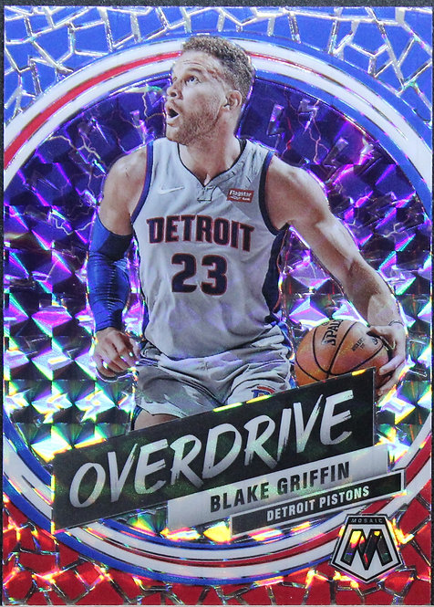Blake Griffin 2019-20 Mosaic Overdrive