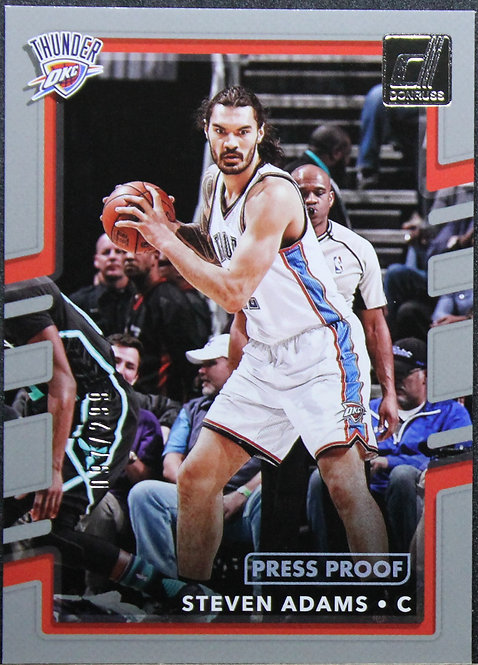 Steven Adams 2017-18 Donruss Press Proof Silver 097/299