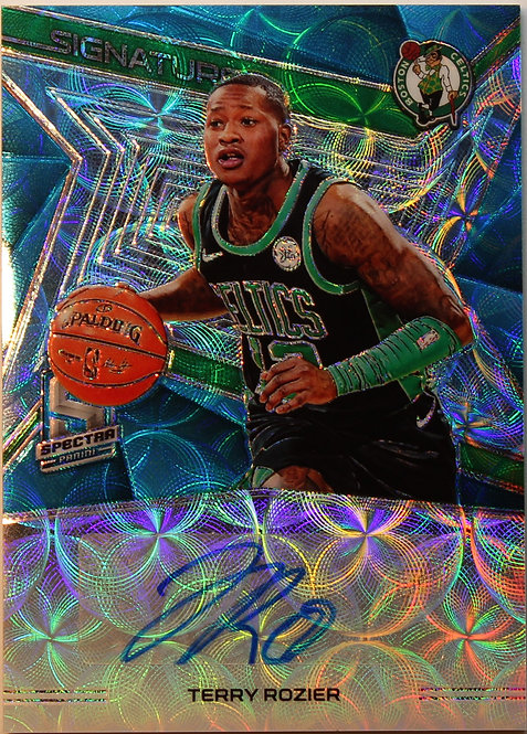 Terry Rozier  2018-19  Spectra Signatures Neon Blue