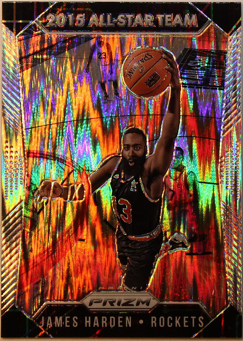 James Harden  2015-16  Prizms Flash