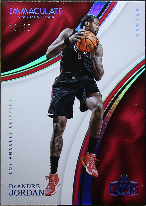 De'Andre Jordan 2016-17 Immaculate Collection 18/35