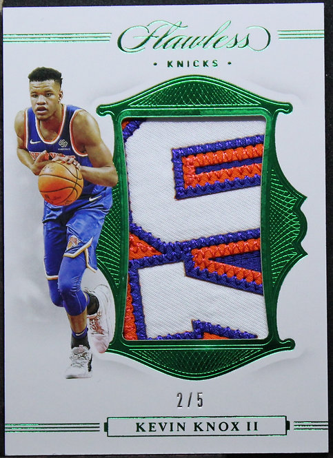 Kevin Knox 2019-20 Flawless Jersey Patch 2/5