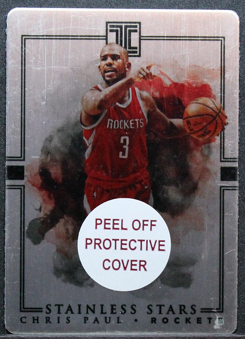 Chris Paul 2018-19 Impeccable Stainless Stars 13/99