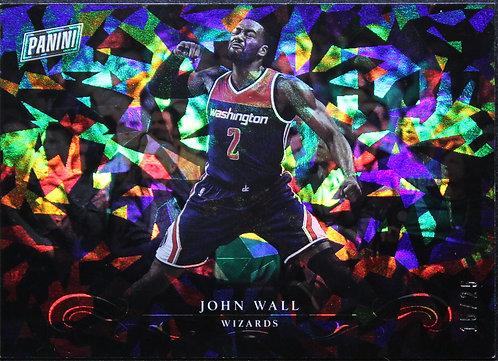 John Wall 2017 Black Friday Panini Collection Cracked Ice 15/25
