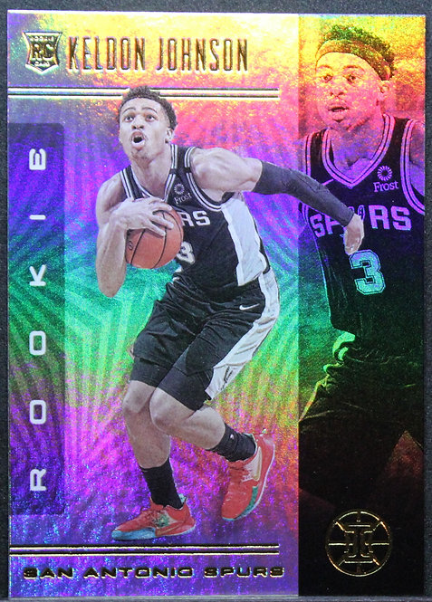 Keldon Johnson 2019-20 Illusions RC