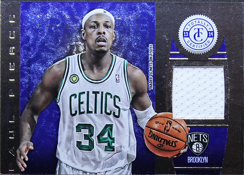 Paul Pierce 2013-14 Totally Certified Materials Blue 36/99