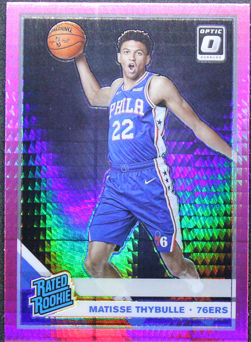 Matisse Thybulle 2019-20 Optic Hyper Pink Rated Rookie