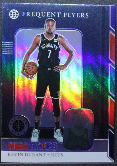 Kevin Durant 2019-20 Frequent Flyers Silver