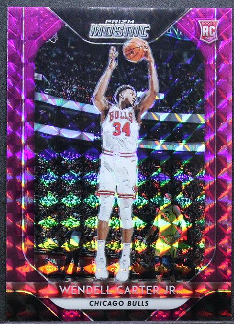 Wendell Carter Jr. 2018-19 Mosaic Purple 20/49 RC