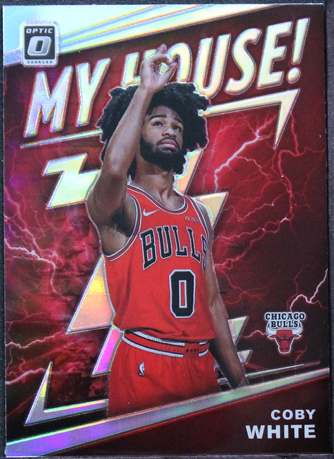 Coby White 2019-20 My House Holo