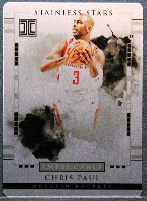 Chris Paul 2017-18 Impeccable Stainless Stars 26/99
