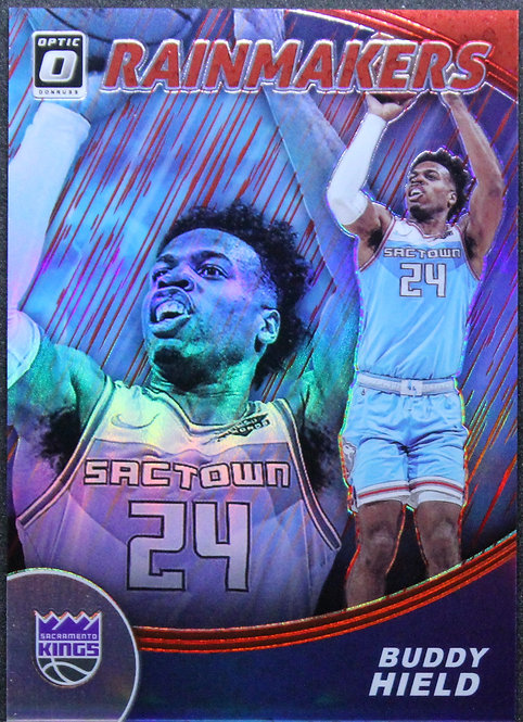 Buddy Hield 2019-20 Optic Rain Makers Red 78/99