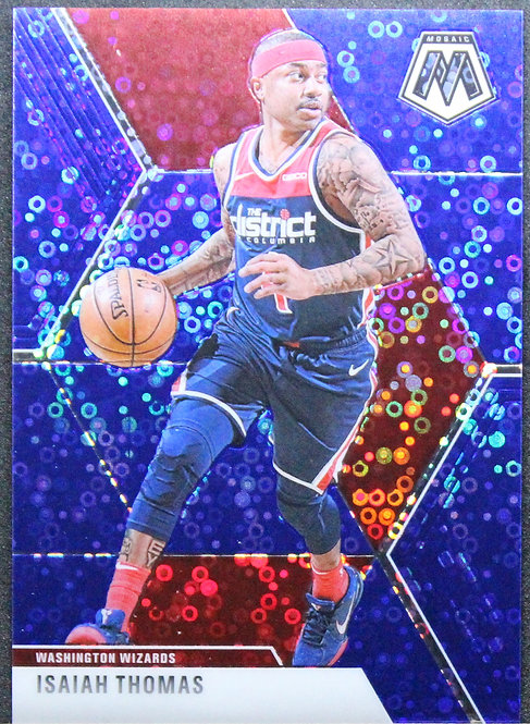 Isaiah Thomas 2019-20 Mosaic Fast Break Blue 45/85