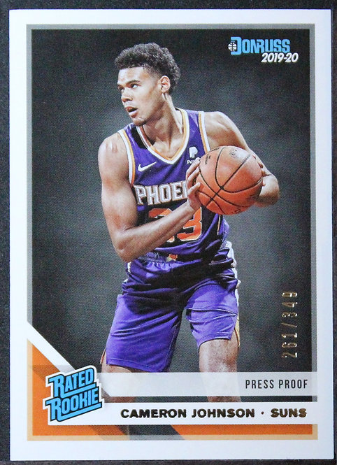 Cameron Johnson 2019-20 Rated Rookie PressProof Silver /349
