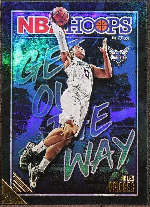 Miles Bridges 2019-20 Hoops Get Out the Way Holo