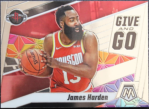 James Harden 2019-20 Mosaics Give and Go
