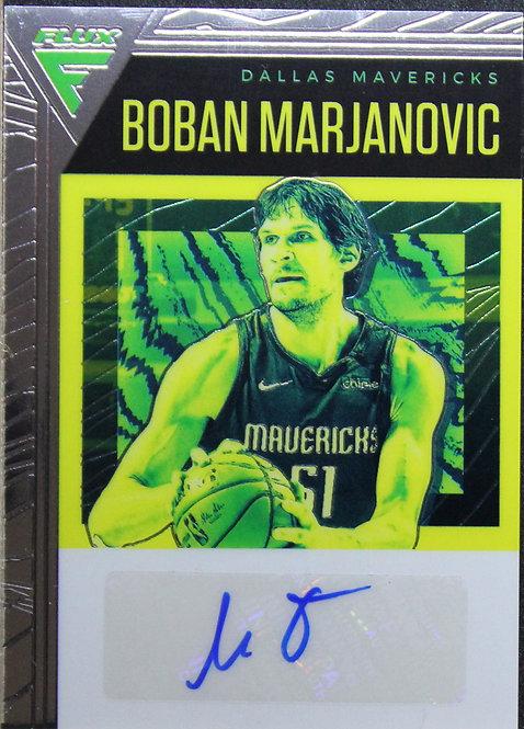 Boban Marjanovic 2019-20 Chronicles Flux Autos 52/99