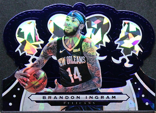 Brandon Ingram 2019-20 Crown Royale Crystal Blue 41/99