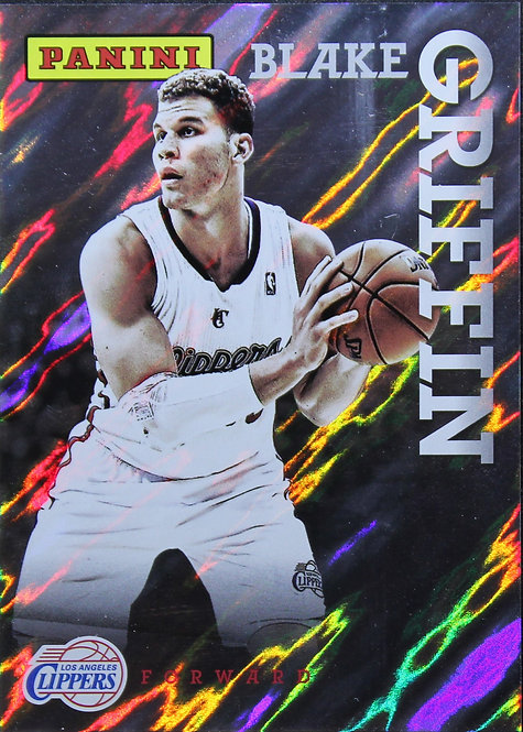 Blake Griffin 2013 National Convention Silver lava flow