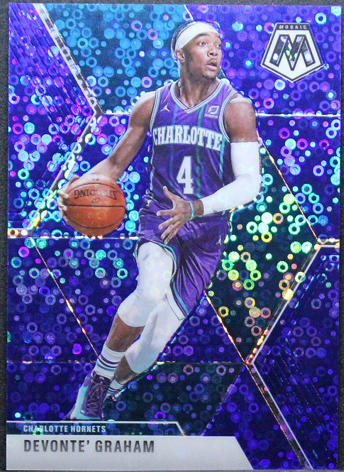 Devonte' Graham 2019-20 Mosaic Fast Break Blue 56/85