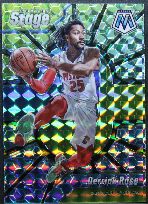 Derrick Rose 2019-20 Mosaic Centre Stage