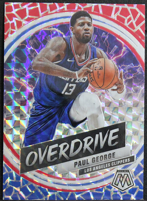 Paul George 2019-20 Mosaic Overdrive