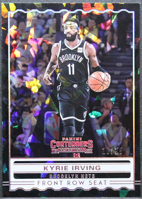 Kyrie Irving 2019-20 Contenders Front Row Seat Cracked Ice 10/25