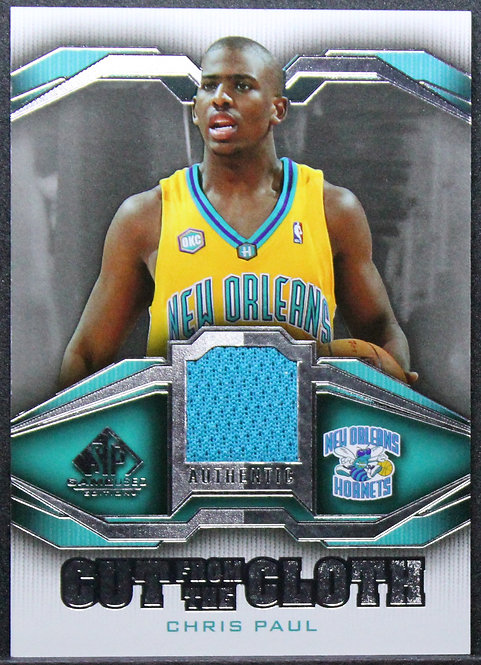 Chris Paul 2007-08 SP Cut from the same cloth