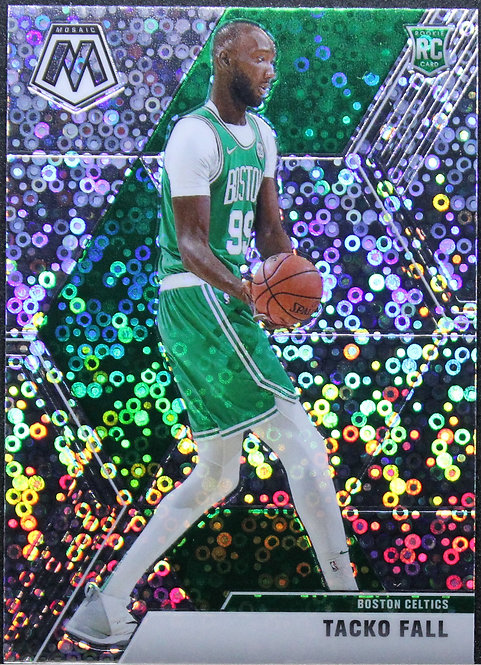 Tacko Fall 2019-20 Mosaic Fast Break Silver