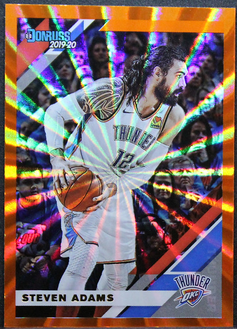 Steven Adams 2019-20 Donruss Orange Laser