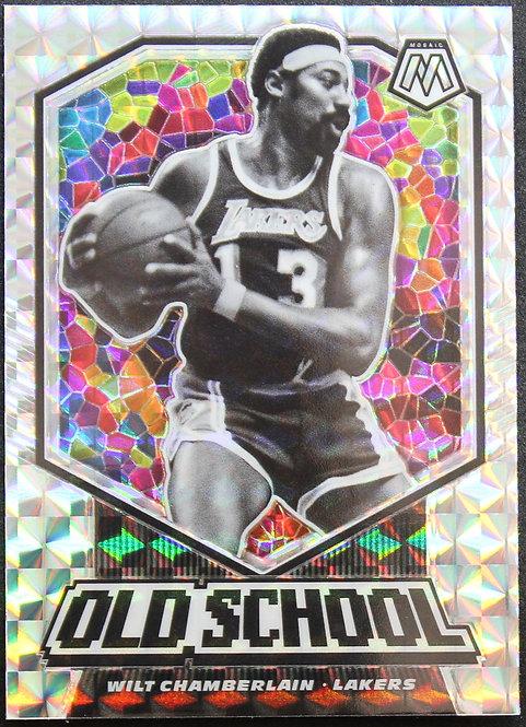Wilt Chamberlain 2019-20 Mosaics Old School Silver