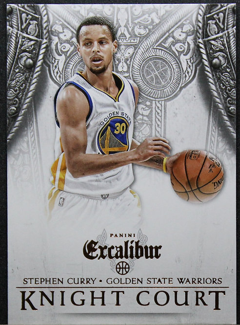 Stephen Curry 2014-15 Excalibur Knight Court