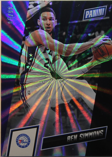 Ben Simmons 2019 The National Convention Rainbow Spokes 36/50