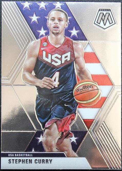 Stephen Curry 2019-20 Mosaics USA basketball
