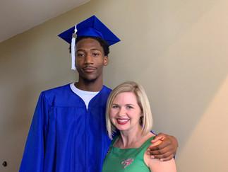 Quenton Jackson, CF B'ball player 2019 Graduate