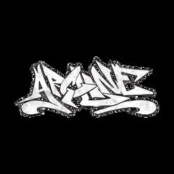 Arcline Rough Grafiti Logo