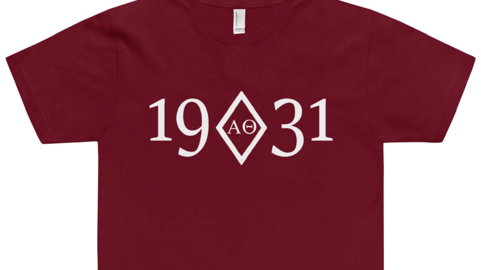 Alpha Theta Founded Short Sleeve Dri-Fit T-Shirt - 2XL