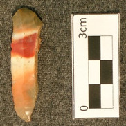 Prismatic blade - flint ridge chert - 9b