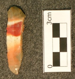 Prismatic blade - flint ridge chert - 9b